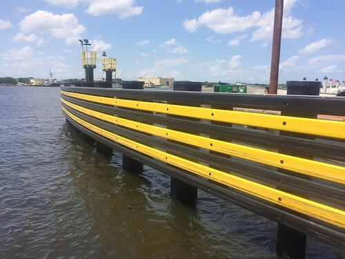 1._Completed_FRP_Slipwalls_at_St._Johns_River_Ferry