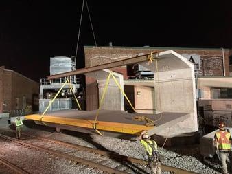 Installation Chelsea Rail Platform