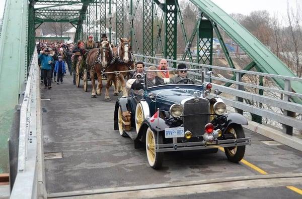 Blackfriars Bridge Opening
