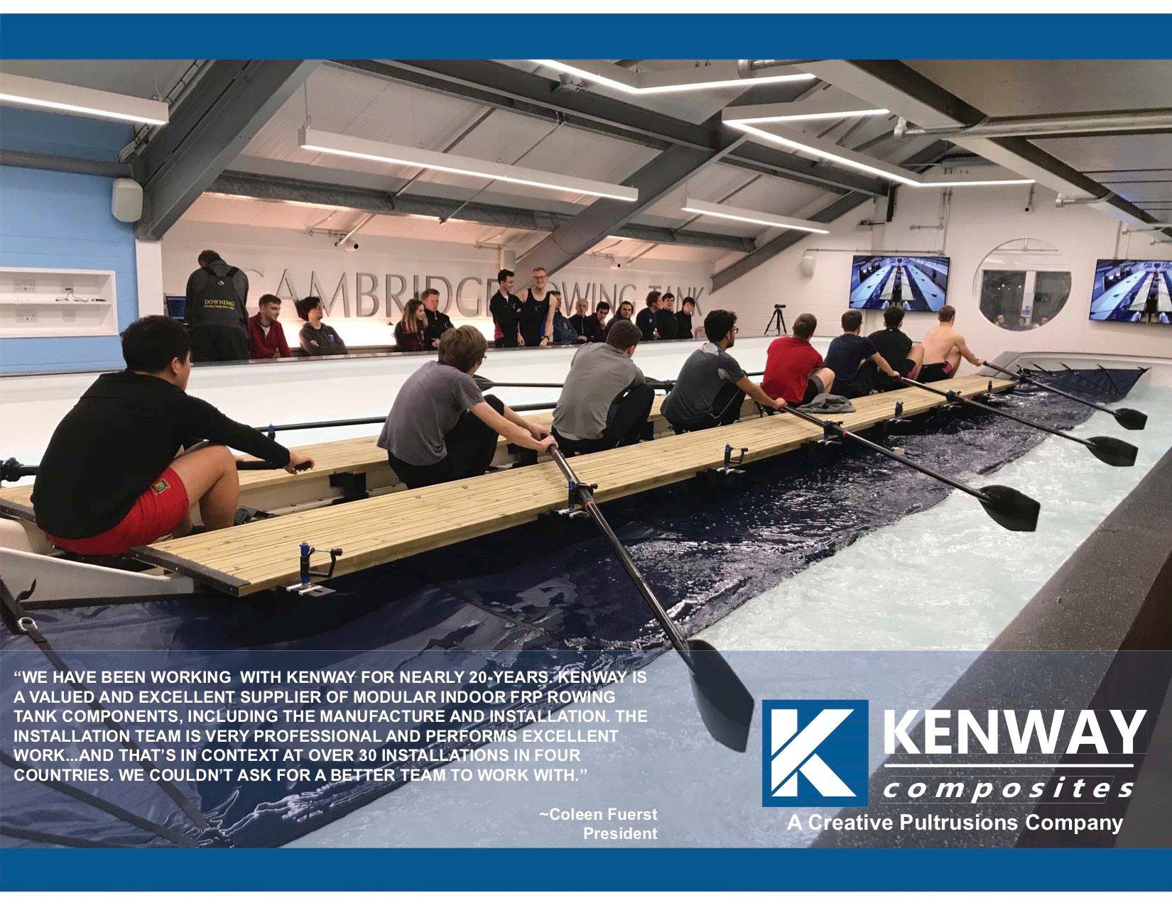 Cambridge Rowing Tank - KW
