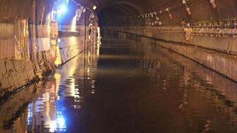 Canarsie tunnel flooded