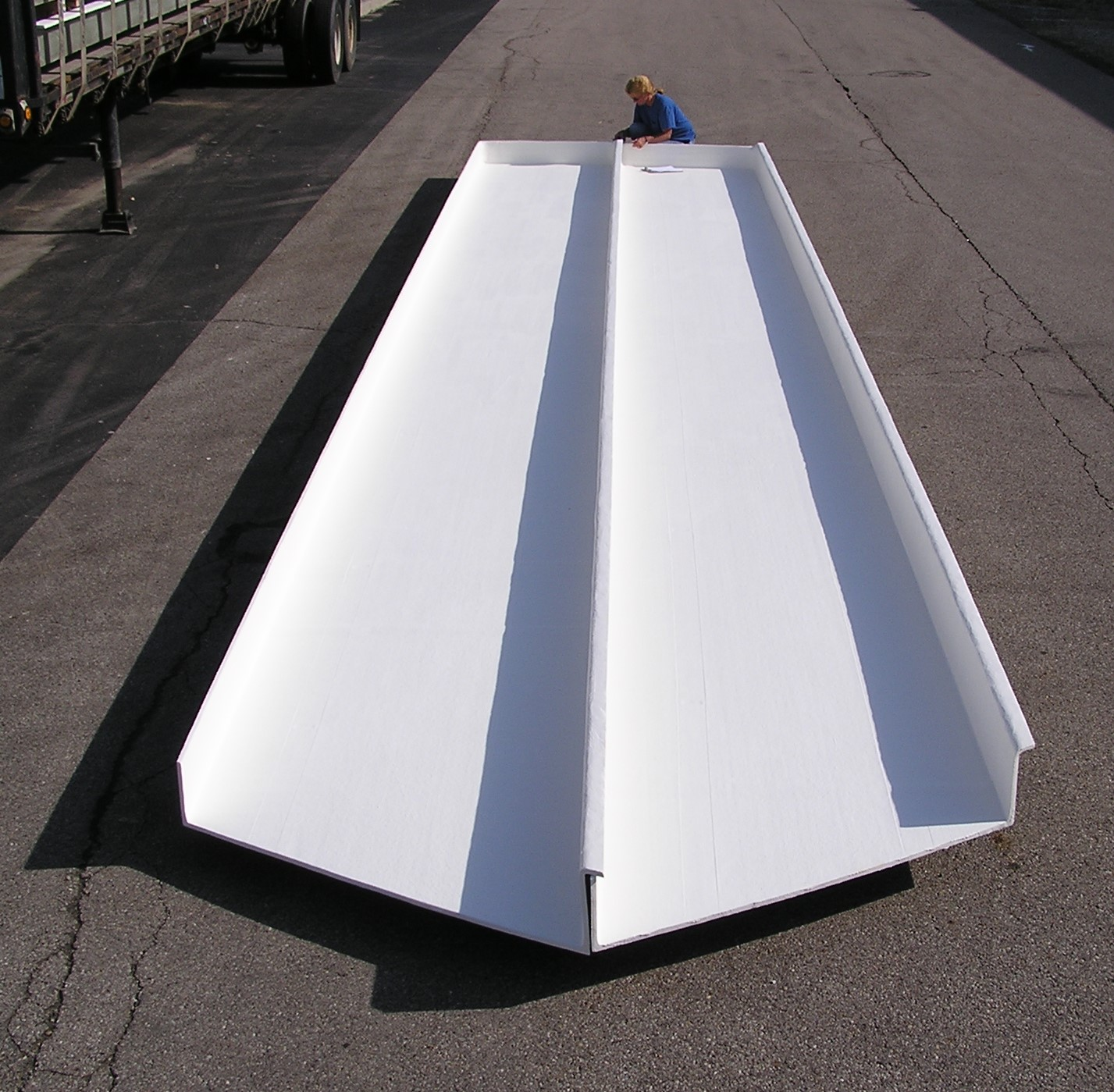 Chemical Facility Roof Panels