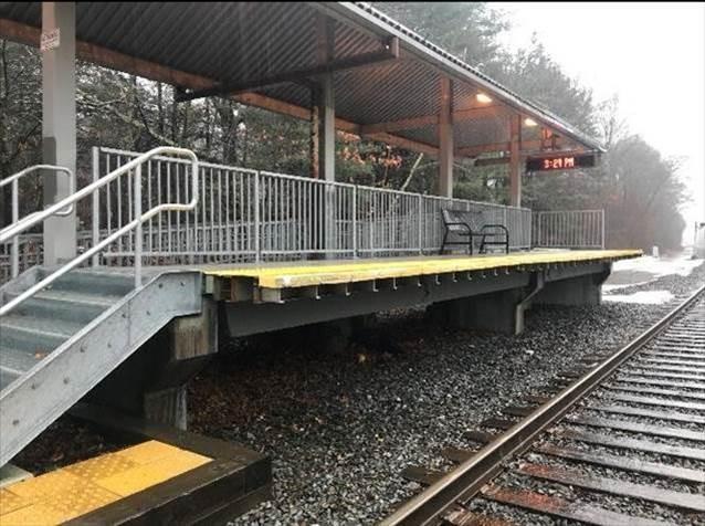Double Tee Rail Platform