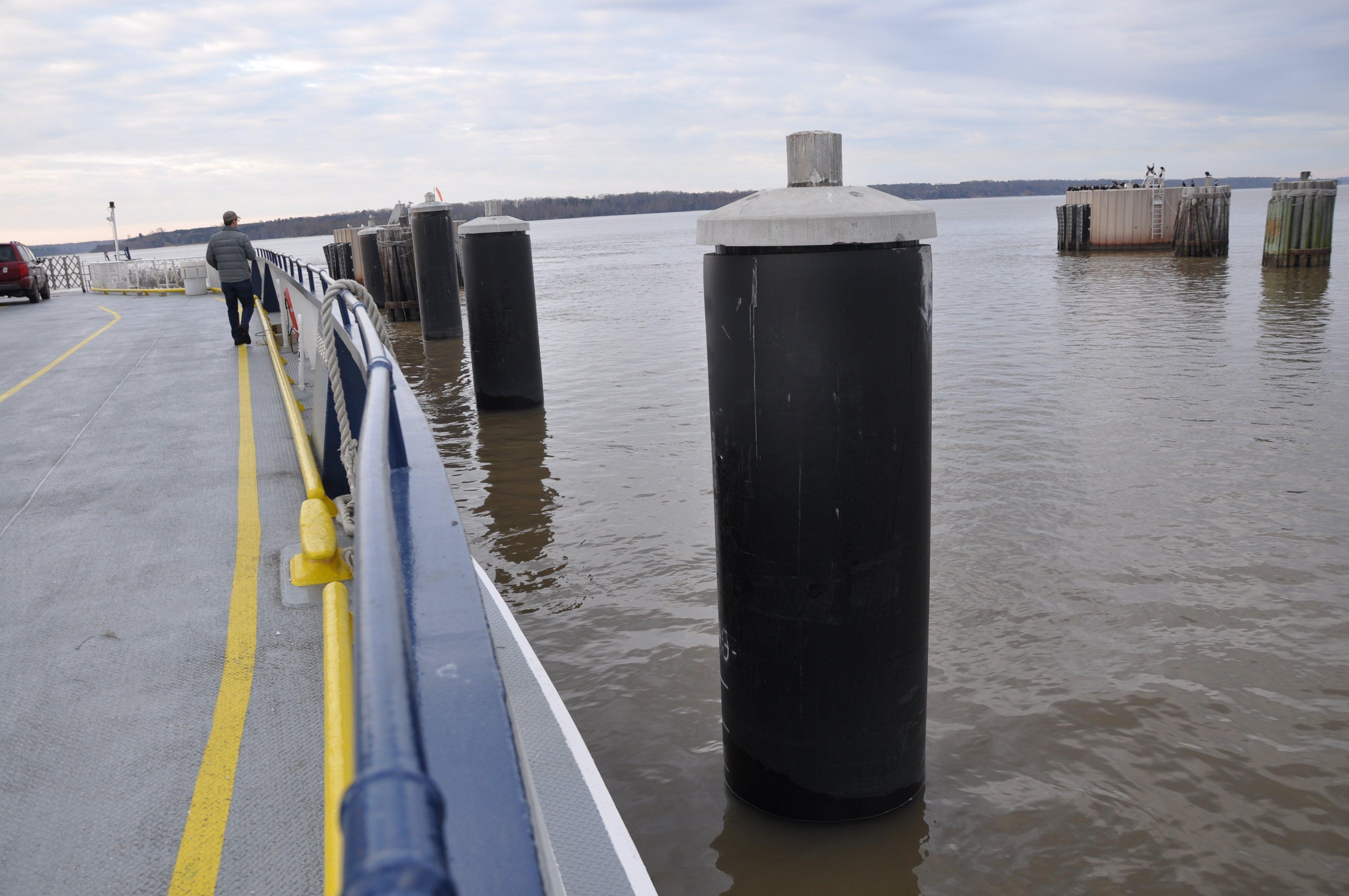 FRP Monopiles For Jamestown Scotland Ferry