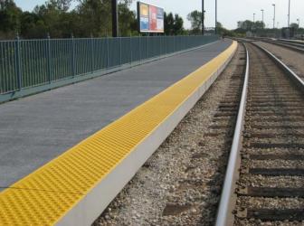 Fire Resistance of FRP Rail Platforms