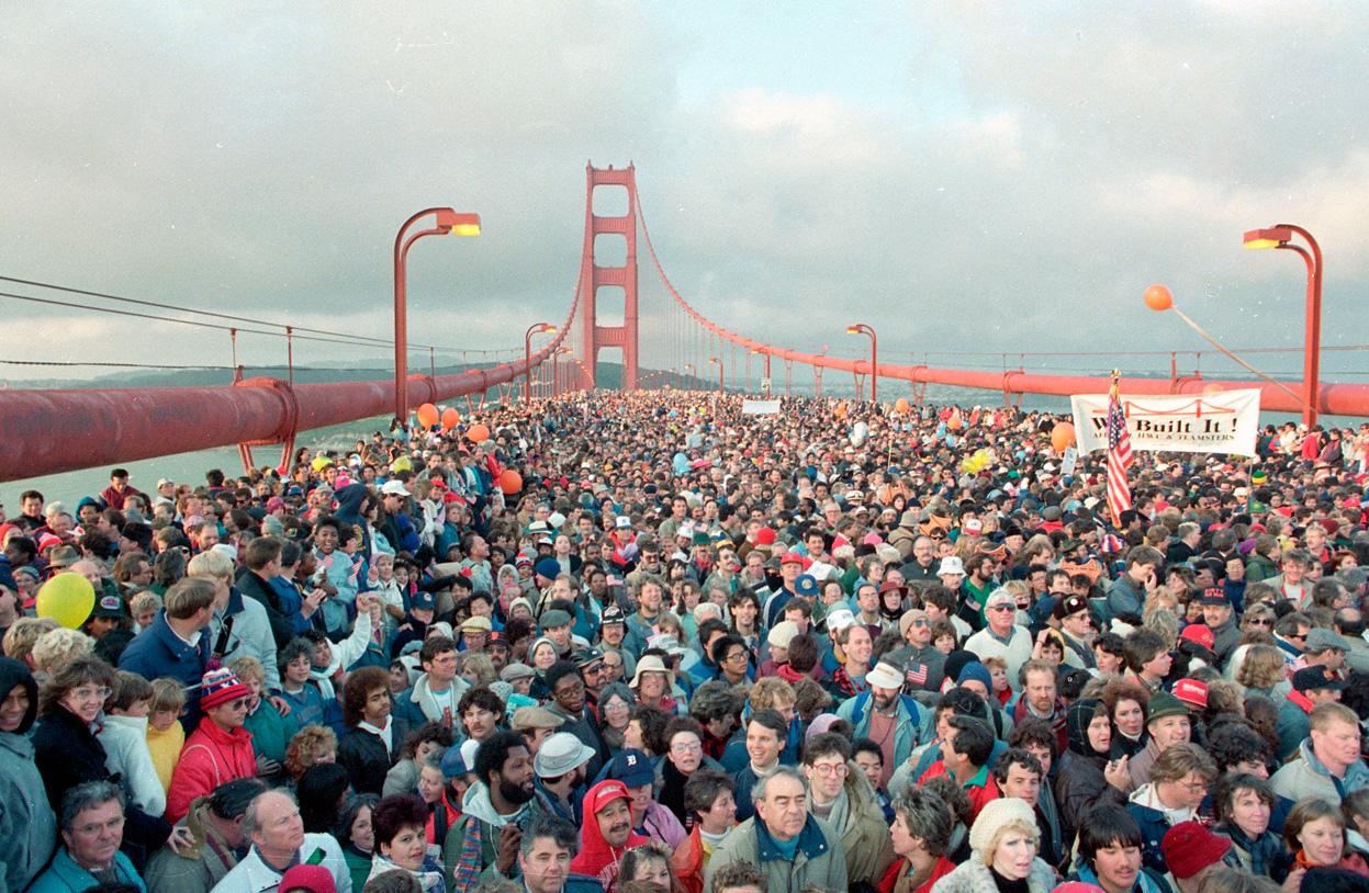 Golden Gate 50 yr photo