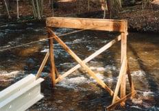 Temporary Bridge Supports