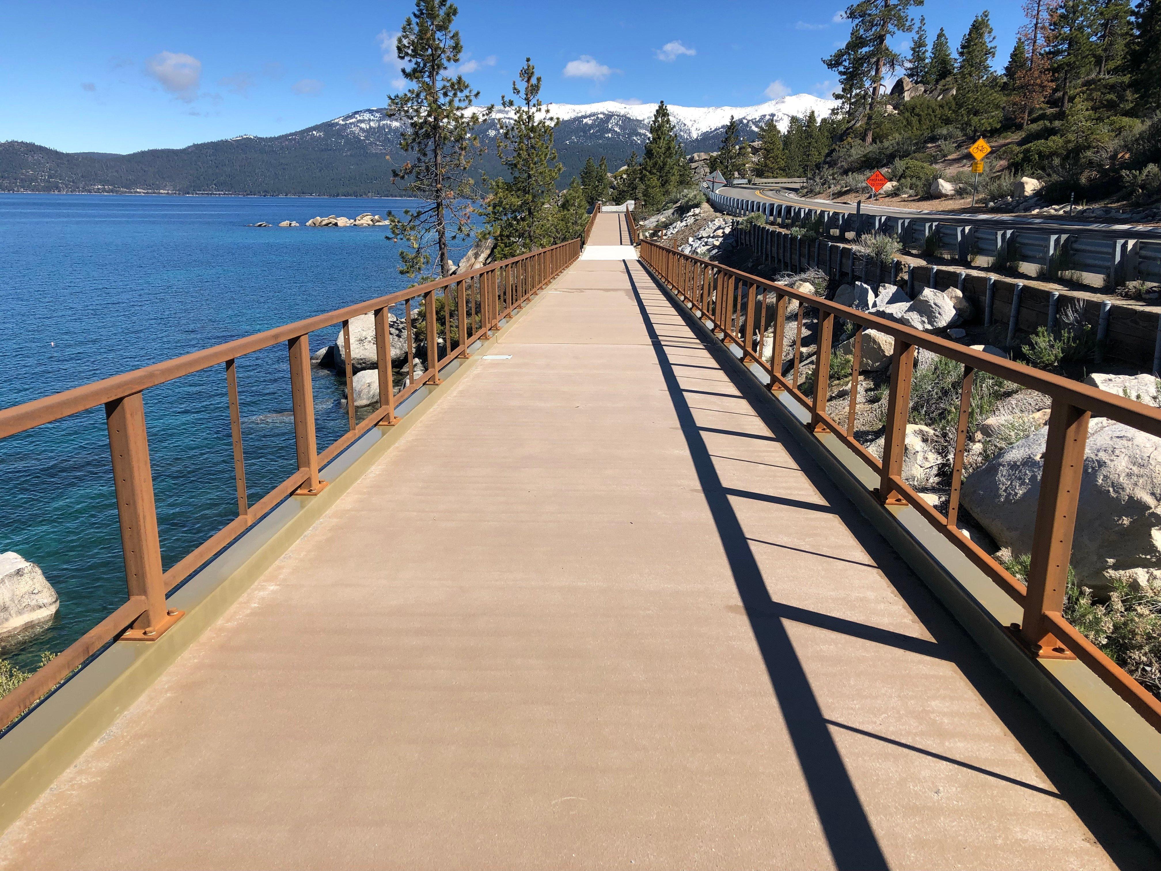 Lake Tahoe FRP Pedestrian Bridges