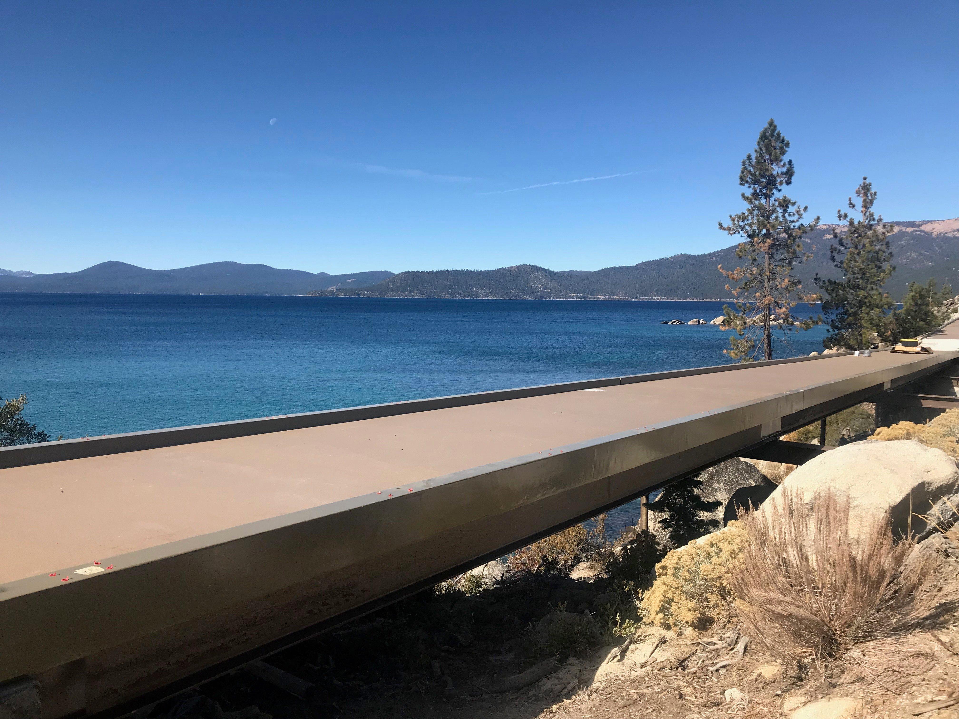 Lake Tahoe Pedestrian Bridge