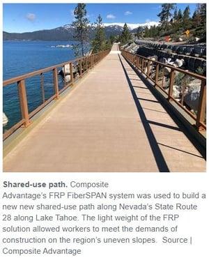 Lake Tahoe with description