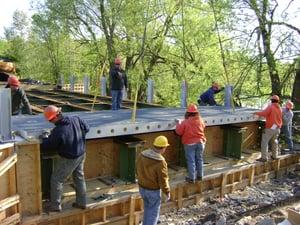 FRP Deck Install
