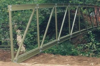 FRP Bridge Cross Trusses