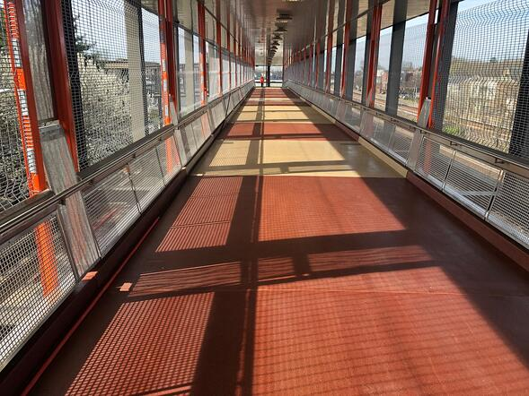 Quartz Architectural Decking non-slip