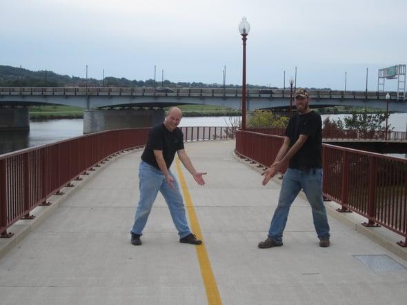 We really like this FRP bridge deck