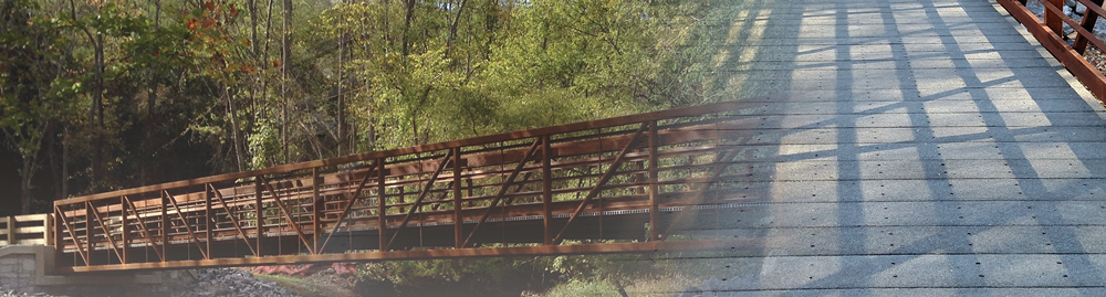 Bedford Heritage Trail Bridge Phase I - Decking Project