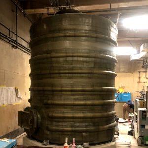 Fri Tank Installation