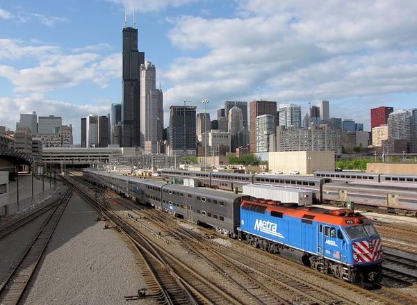 Chicago METRA Blog Photo FRP bridge infrastructure
