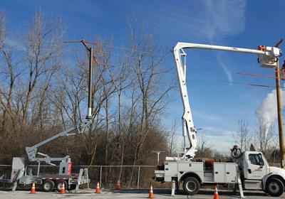 10 FRP Utility Pole