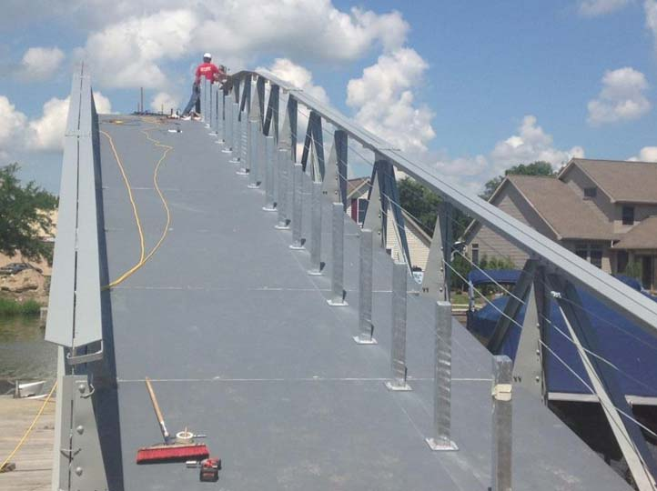 07-Installation-of-Center-Railing-1