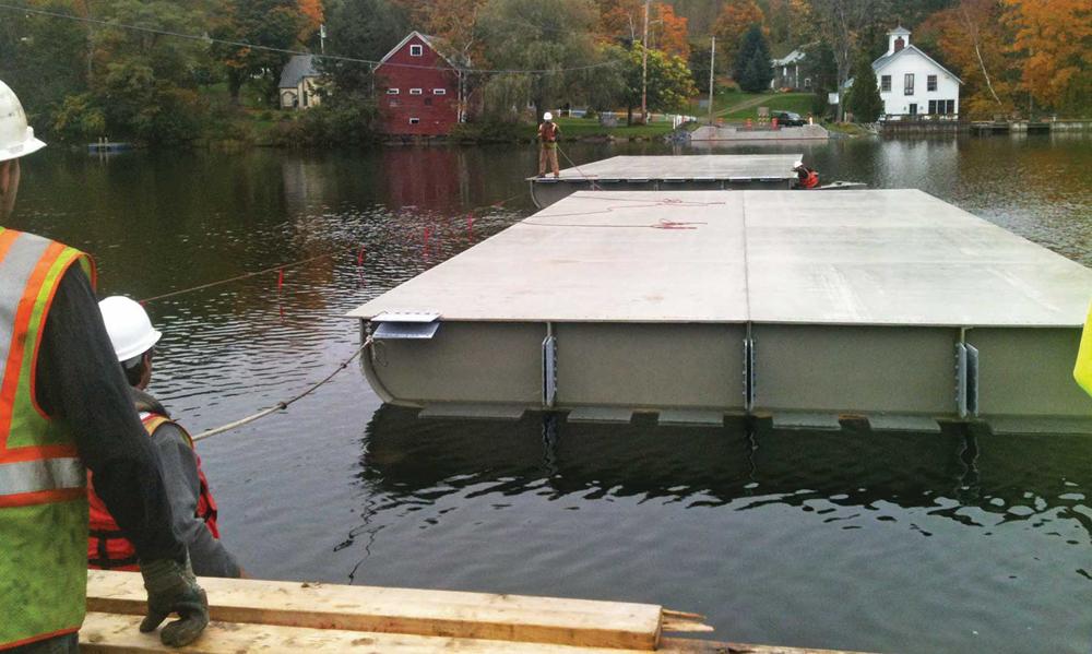 30 Brookfield Floating Bridge
