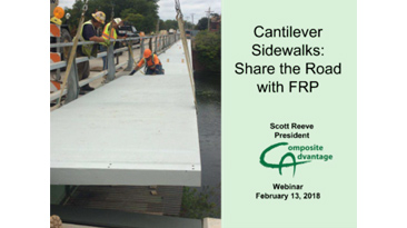 Cantilever Sidewalks: Share the Road with FRP