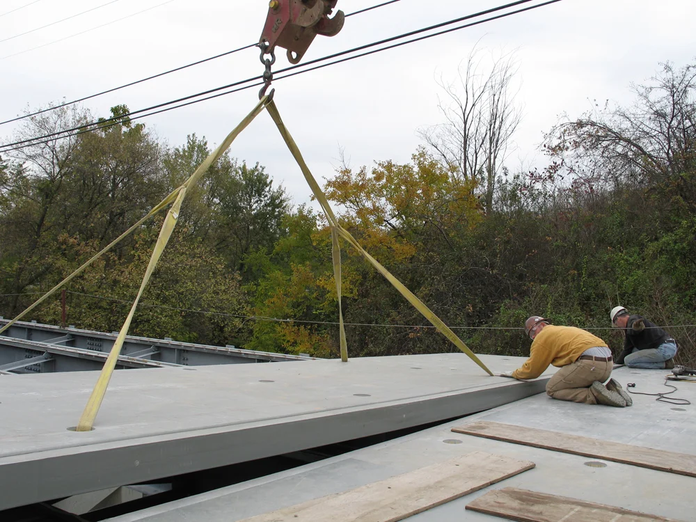 04 Deck Panel Placed Against Previous Panel