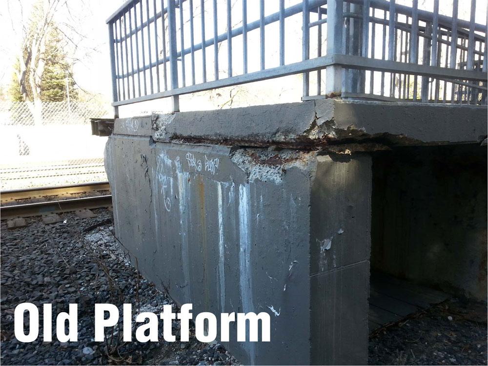 2 Old West Natick Platform