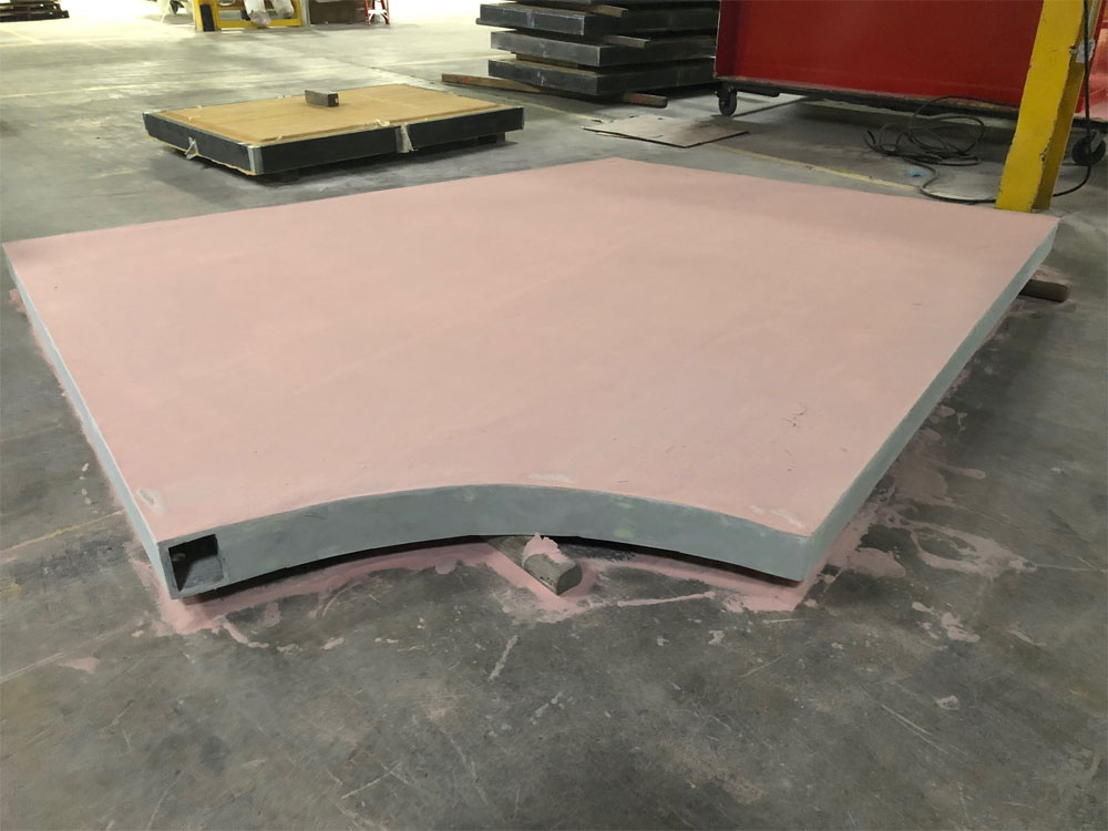 3 Curved End Panel