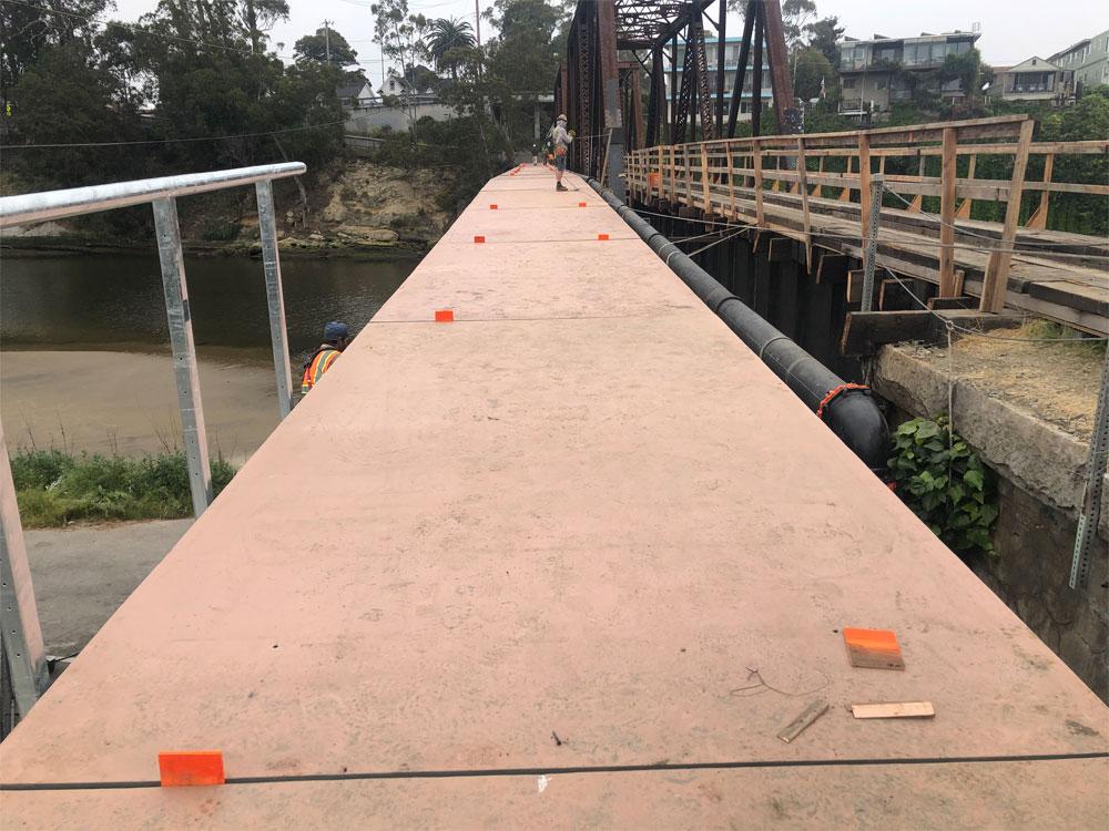 4 View Down Bridge Deck