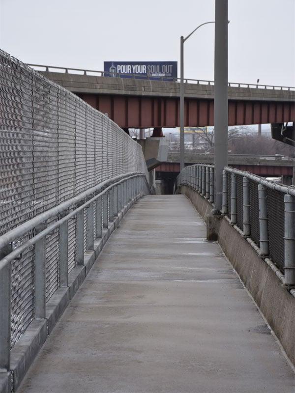 5 Completed Walkway