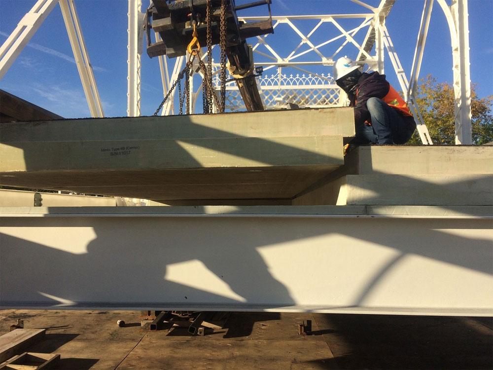 5 Deck Panel Placement
