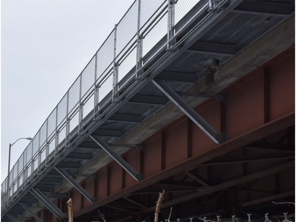 7 Underside Of Bridge With Railing