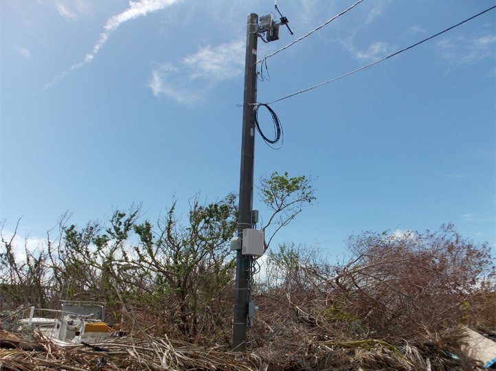 Big Pine Keys Small Cell Tower Application