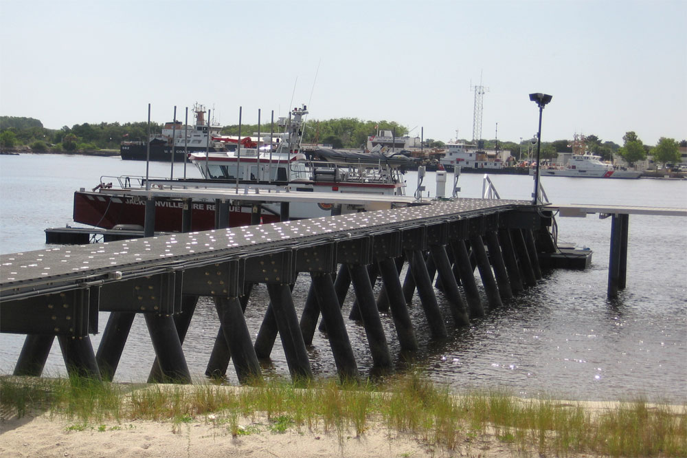 Jacksonville Fire Dept Pier