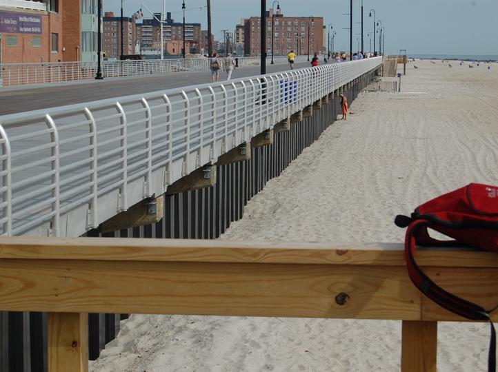 Long Beach Boardwalk Replacement, New York