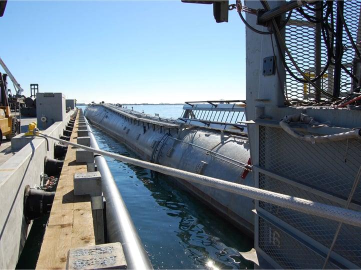 Nimitz Marine Facility Pier