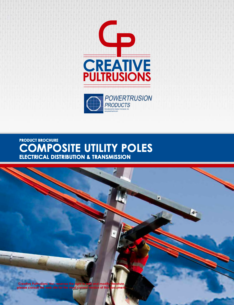 Composite Utility Pole Brochure