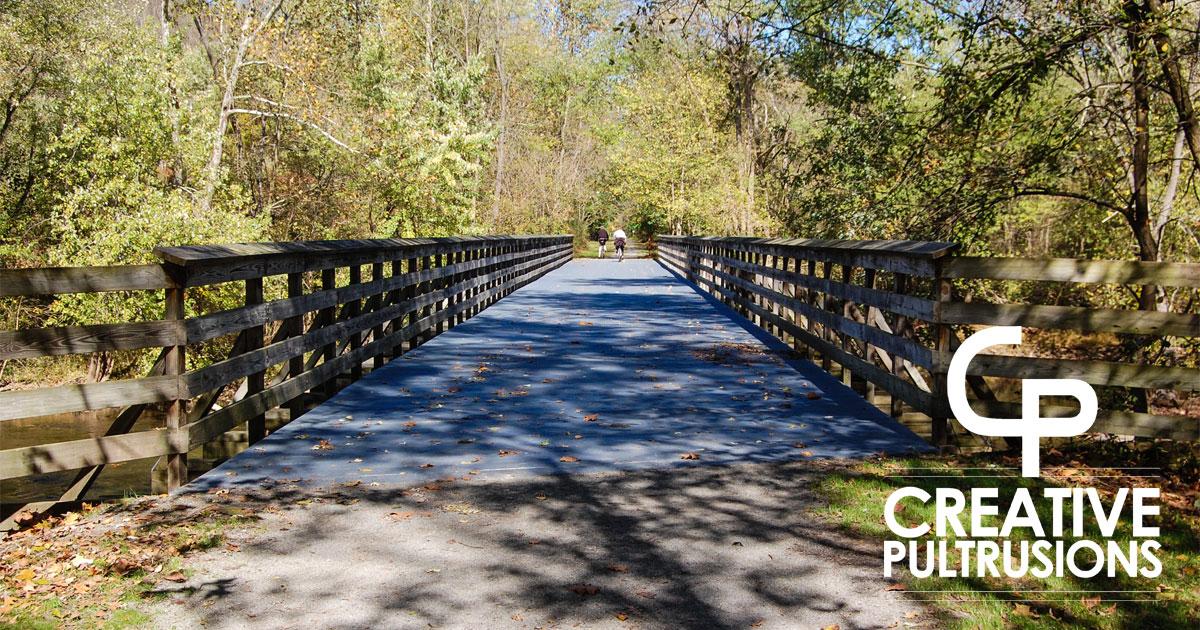 Rails to Trails Bridge Project - FRP Decking