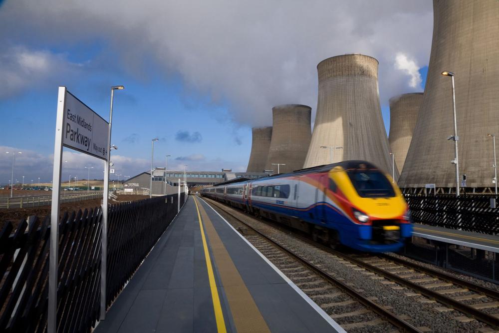 East Midlands Parkway Station Platform - FRP Decking