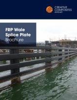 FRP wale splice plate brochure