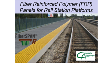 Fiber Reinforced Polymer (FRP) Panels for Rail Station Platforms