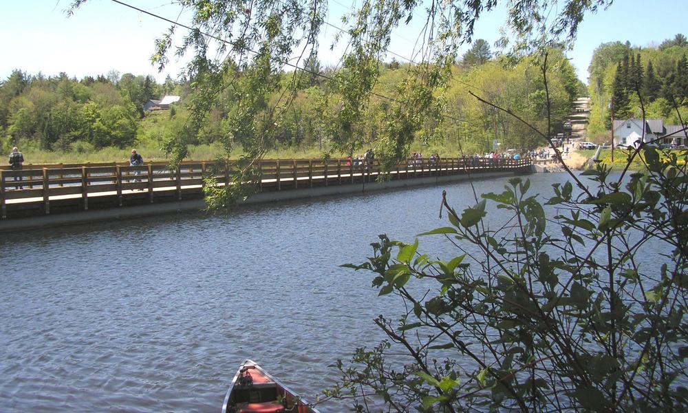 Composite Floating Bridge