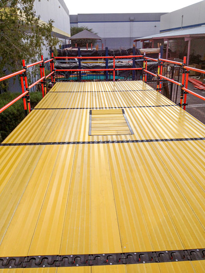 Composite Scaffolding Plank System