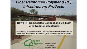 How FRP Composites Connect and Co-Exist with Traditional Materials