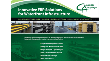 Innovative FRP Solutions for Waterfront Infrastructures