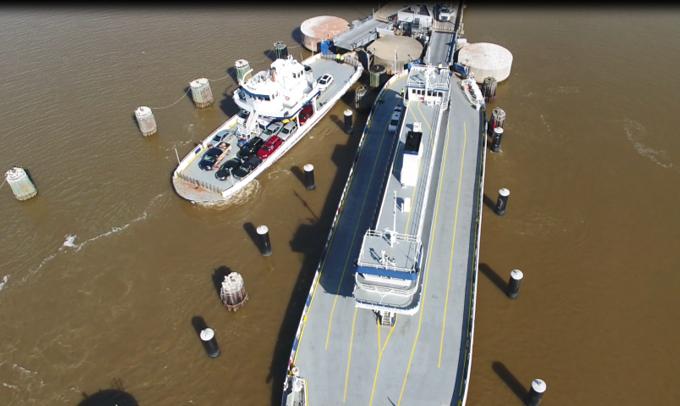 J Ferries in slips 2