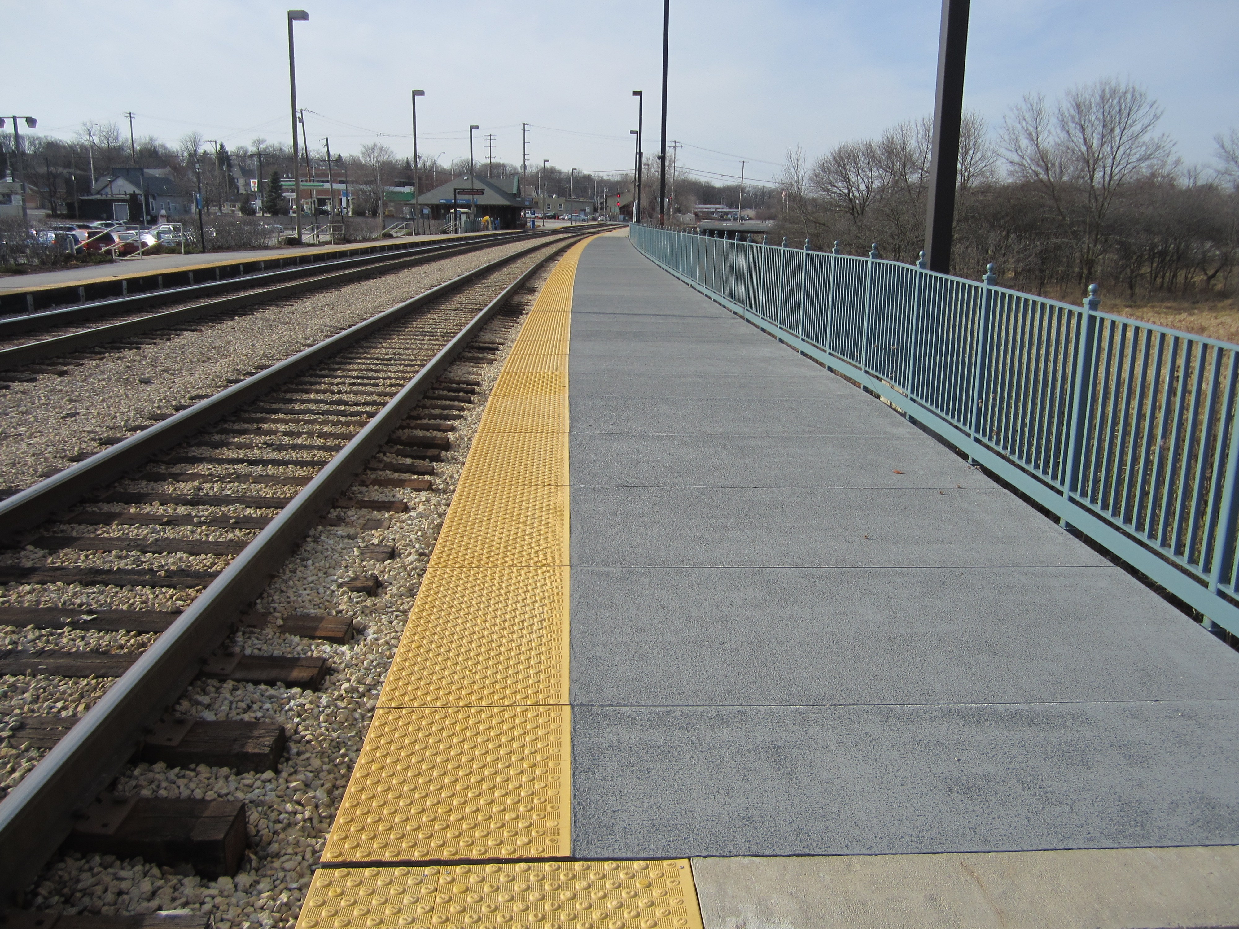 FRP Panels and Functional Rail Platforms