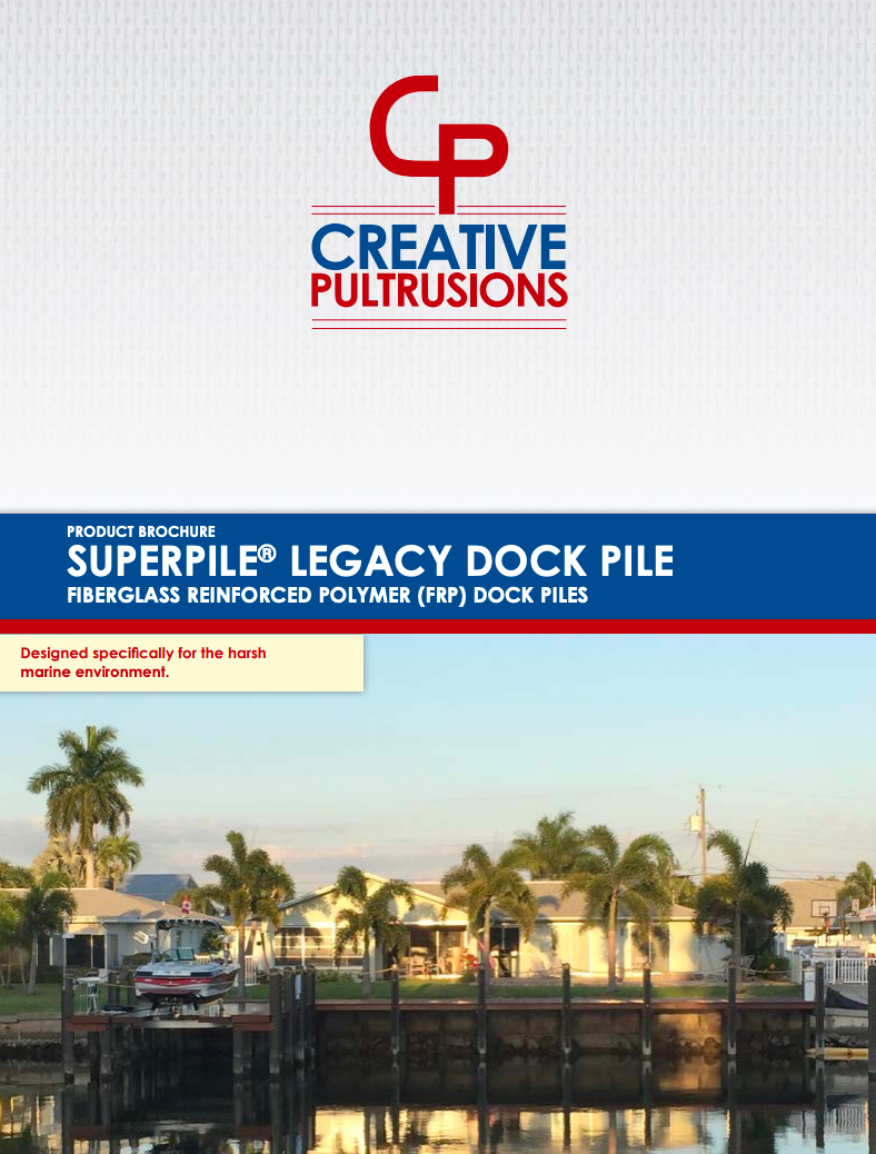 SUPERPILE® Legacy Dock Pile Brochure