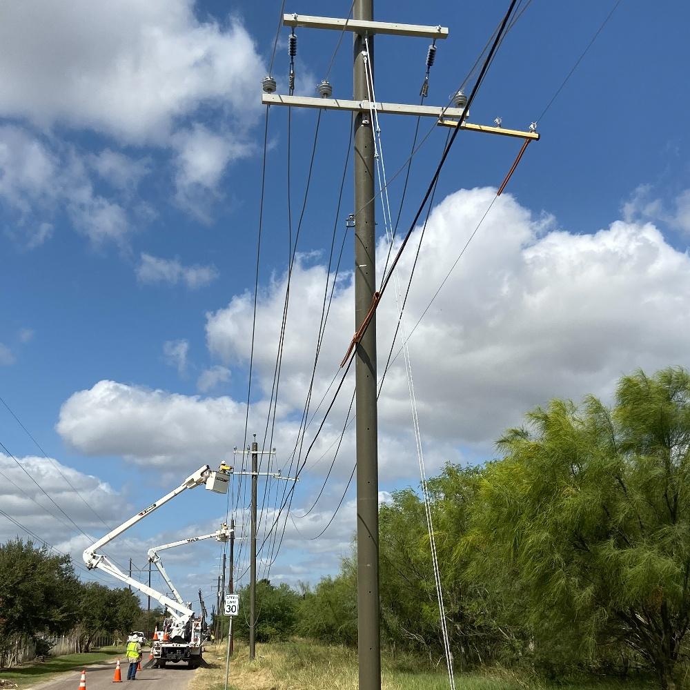 Storm Hardening Utility Poles