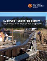 Superloc sheet pile system